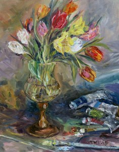 tulips-in-the-studio-18-x-14-inch-oil-on-canvas-by-terrill-welch-january-15-2016-img_9087